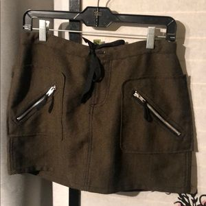 Military dollhouse skirt